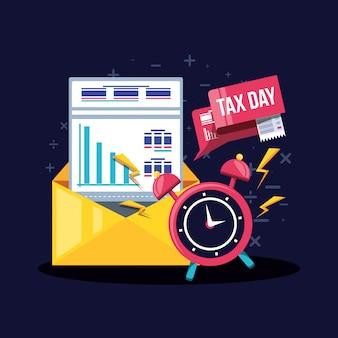Налоговый день с конвертом