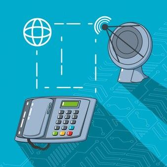 通信技術セットのガジェット