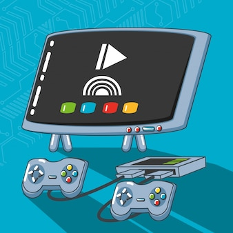 ビデオゲームテクノロジーセットガジェット