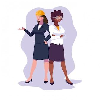 Аватар женский мультфильм инженер
