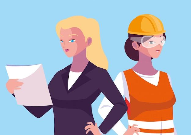アバター女性漫画エンジニア