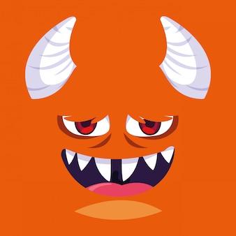 Мультфильм оранжевый монстр
