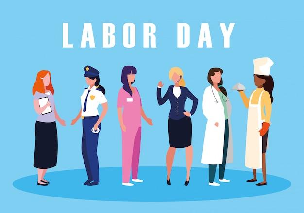 グループの専門家との労働者の日のお祝い