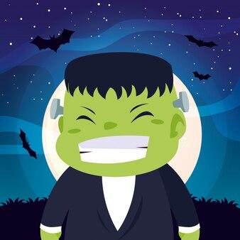 Хеллоуин в костюме ребенка