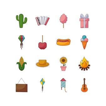 Набор иконок для фестиваля разнообразия