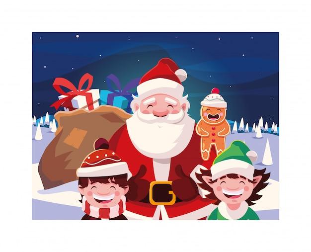 Веселые новогодние мультфильмы