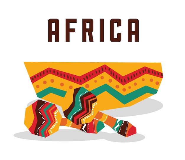 Африка, представленная его инструментом