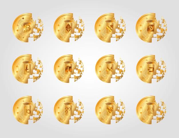 Монеты криптостойкости