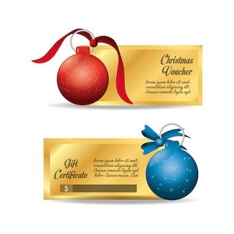 クリスマスバウチャーとギフト券
