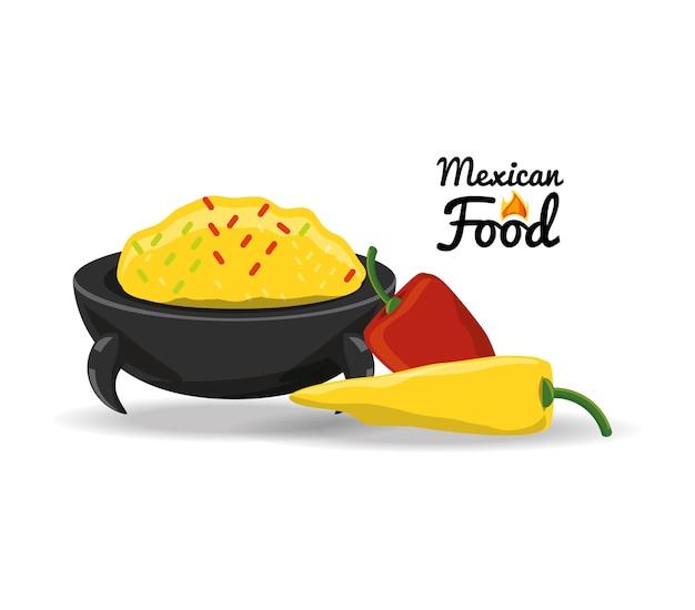 唐辛子メキシコの伝統的な食べ物