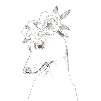 花束とグレイハウンド