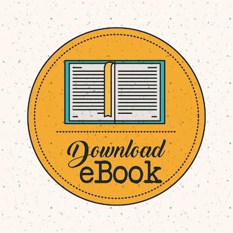 Скачать электронную книгу внутри значка печати печати