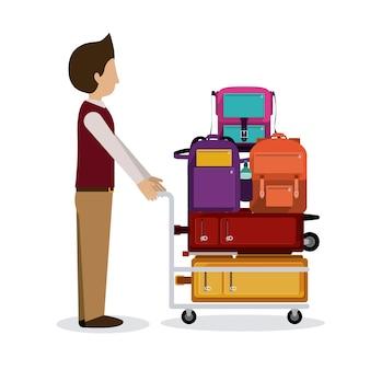 Дизайн иконок путешествия