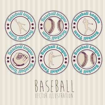 野球のシール