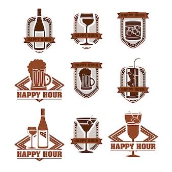 飲み物のラベル