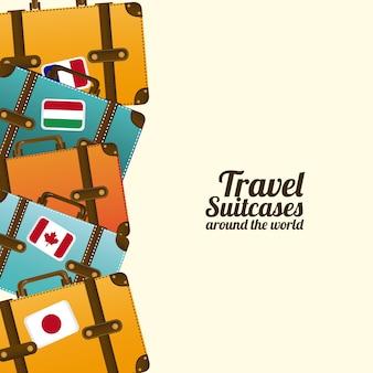 Туристические чемоданы
