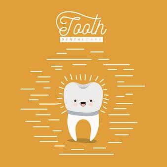 かわいい似顔絵歯科歯科治療