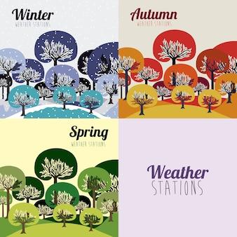 天気予報デザイン