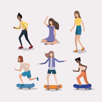 女性活動のグループ