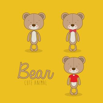 熊のデザイン