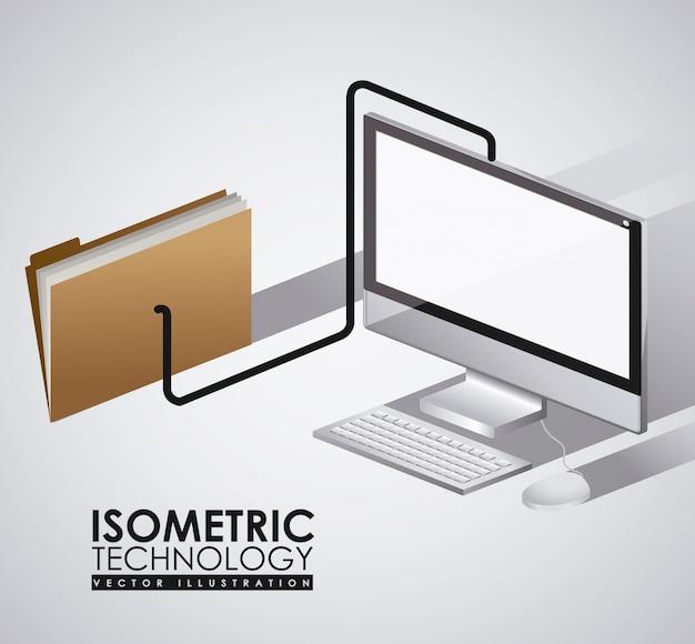 Технология дизайна, векторные иллюстрации.