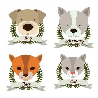 動物のデザイン