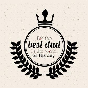 父の日のデザイン
