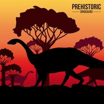 恐竜のデザイン