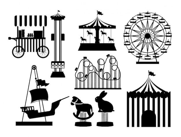 テーマパークのデザイン