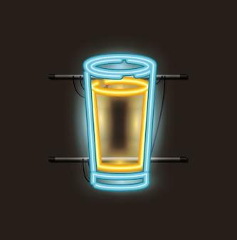 ビールグラスネオンライト