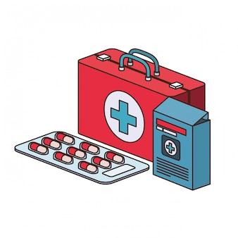 応急処置キットの分離
