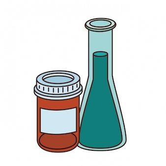医薬品と実験器具