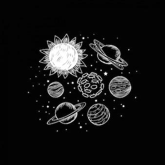 惑星のセット