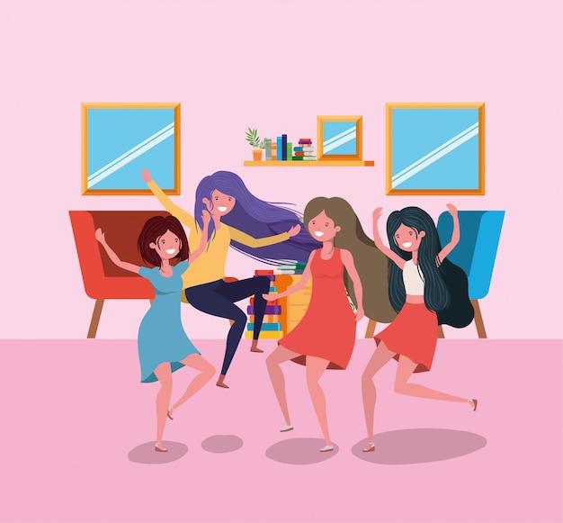 女の子漫画の友情