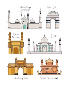 インドの寺院建築