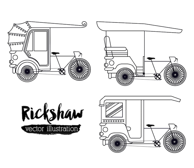 人力車の輸送設計