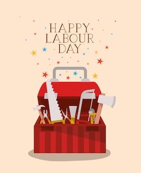 ツールボックスと労働者の日のお祝い