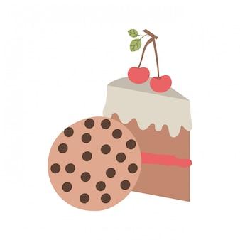 おいしいベーカリーケーキとクッキー