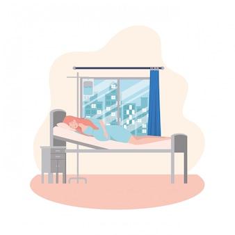 Изолированная иллюстрация беременной женщины