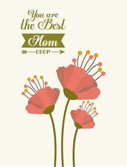 母の日デザイン