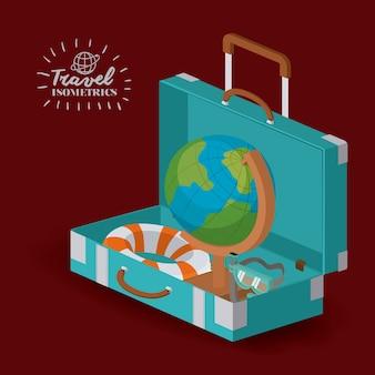 旅行の休暇のデザイン