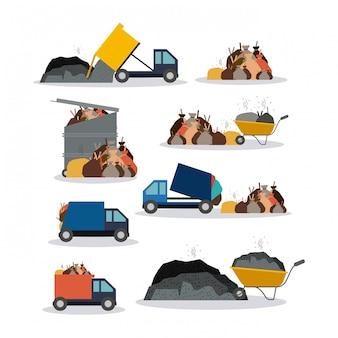 Иллюстрация загрязнения.