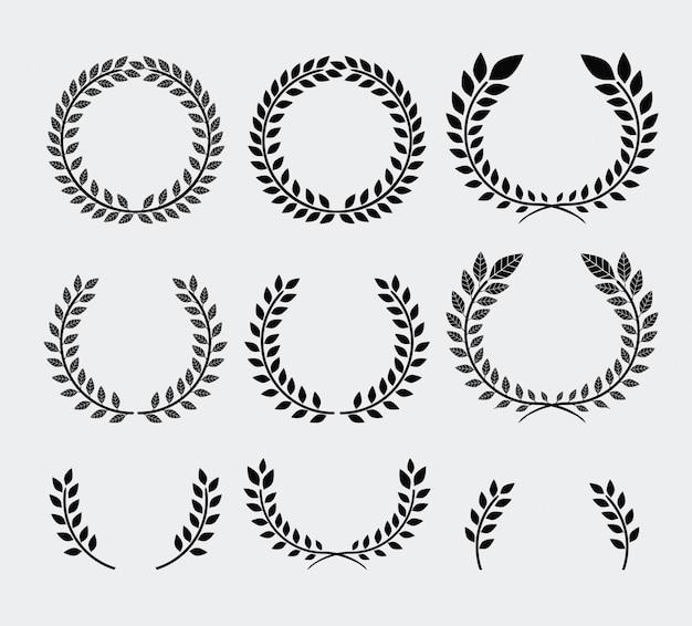 花輪のデザイン