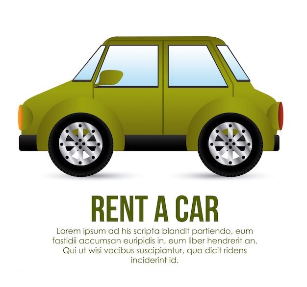 車のテンプレートを借りる