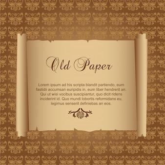 古い紙飾り