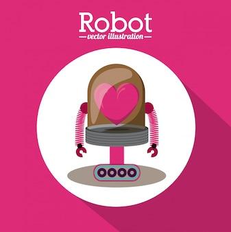 ロボットイラストレーション