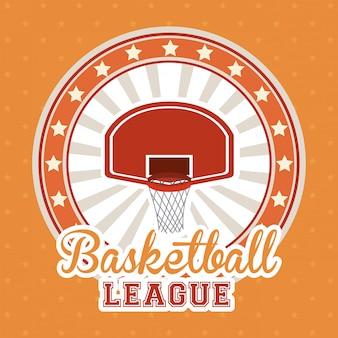 バスケットボールのデザイン