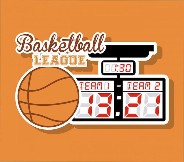 Баскетбольный дизайн