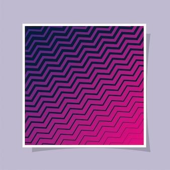 紫ピンクのグラデーションと縞模様の背景、カバーデザイン。