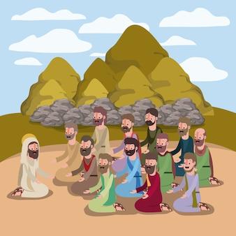 聖週間聖書のシーン